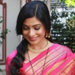 Amruta Pawar Actress in Saree