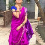 Gautami Deshpande Saree Stylish Photo