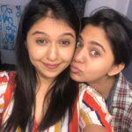 Gautami Deshpande with sitser Mrunmayee Deshpande