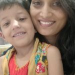 Kalyani Choudhari With son mulaga