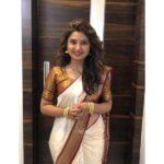 Prajakta Mali Marathi Actress in saree