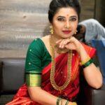 Prajakta Mali Saree Hot Look