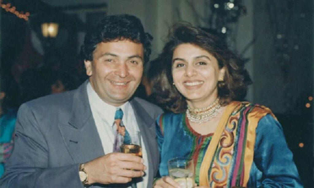 Rishi Kapoor Wife Neetu Singh Old Photo
