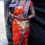 Rupali Bhosale Nau Wari Saree Photos