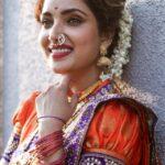Rupali Bhosale Traditional Marathi Saree