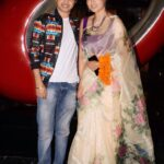 Rupali Bhosle with boyfriend Ankit Magare