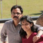 Shivani Sonar With Father Famliy
