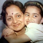 Shruti Marathe With Mother Smita Marathe Family