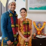 Sonalee Kulkarni Kunal Kunal Marathi Actress Engagement Photos