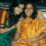 Surabhi Hande with mother Anjali Hande