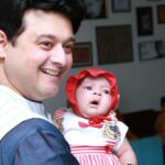 Swapnil Joshi with daughter mayra