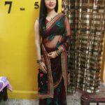 Veena Jagtap Hot Saree