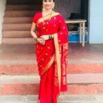 Veena Jagtap In Saree