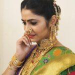 Veena Jagtap Marathi Actress in saree