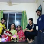 Veena Jagtap Shiv Thakare and Family