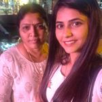 Veena Jagtap With Mother