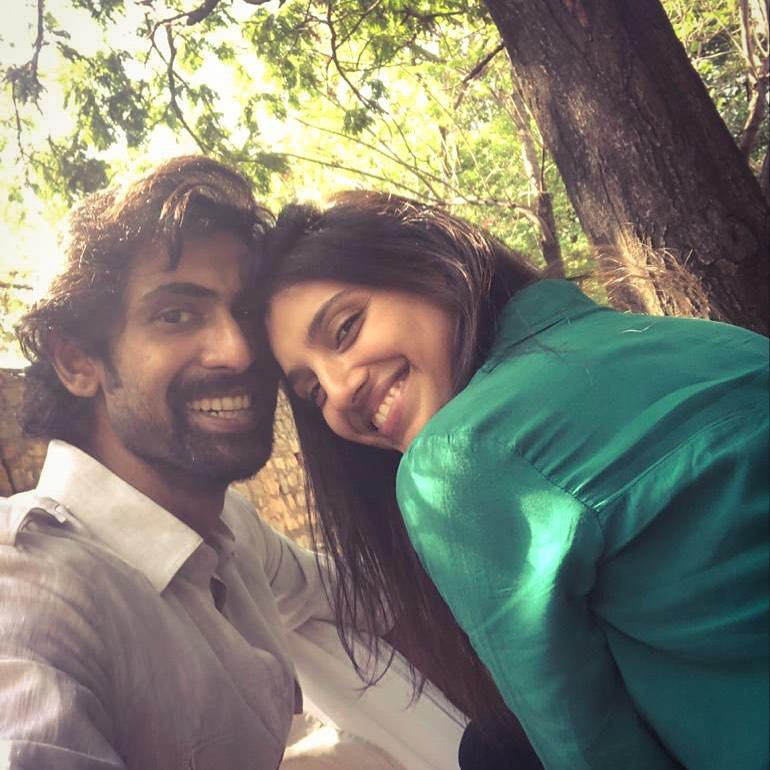 rana daggubati with Girlfreind Miheeka Bajaj
