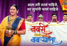 Navri Mile Navryala Cast Wiki Actress Actor Real Names Sony marathI Serial