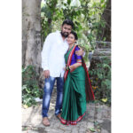 Suvedha Desai Marathi actress with husband