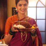 Varsha Usgaonkar in Star Pravah Marathi Serial