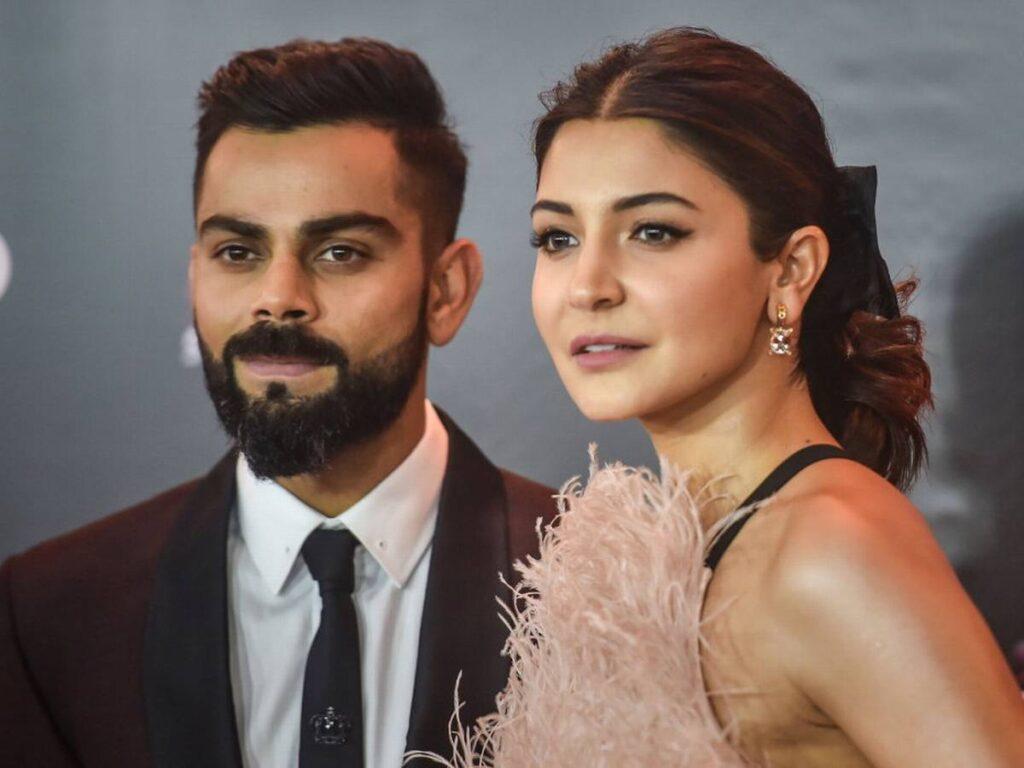 Virat Kohli & anuhka Sharma