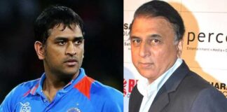why dhoni announced retirement sujil gavaskar