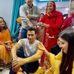 Manasi Naik haldi ceremony