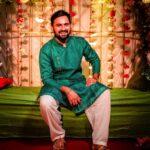 Siddharth Chandekar Haldi Photos Marathi Actor