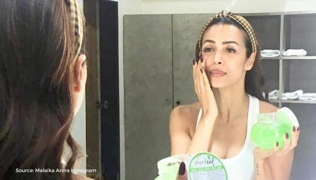 mailka arora khan beauty secrets