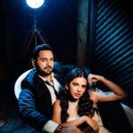 Mitali Mayekar with husband siddharth chandekar