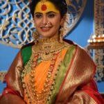 Anushka Sarkate as Laxmi in Shri Lakshmi Narayan Serial