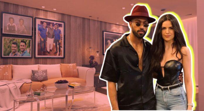 hardik pandya natasha house live luxury villa pics couple