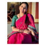 Aishwarya Shete Marathi Actress in Saree