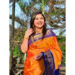 Aishwarya Shete Saree Photos