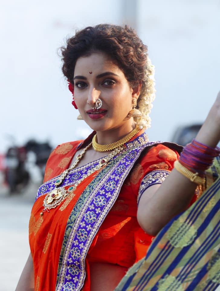 Rupali Bhosale In Saree
