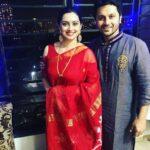 Shruti Marathe With Husband Gaurav Ghanekar