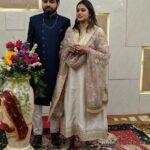 Surabhi Hande with husband Durgesh kulkarni