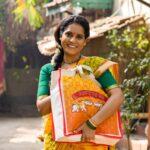 Nandita Patkar as Sarita - Sahkutumb Sahaparivar Star Pravah Serial
