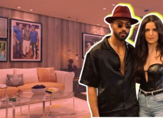 hardik pandya natasha house live luxury villa pics couple